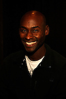 Bernard Lagat at the Prefontaine Classic Press Conference on Saturday, June 7th. 2008. Photo by Errol Anderson, The Sporting Image.