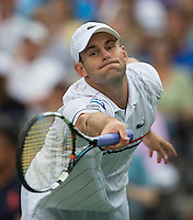 Andy Roddick..Tennis - US Open - Grand Slam -  New York 2012 -  Flushing Meadows - New York - USA - Wednesday 5th September  2012. .© AMN Images, 30, Cleveland Street, London, W1T 4JD.Tel - +44 20 7907 6387.mfrey@advantagemedianet.com.www.amnimages.photoshelter.com.www.advantagemedianet.com.www.tennishead.net
