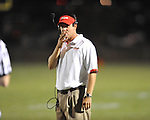 Lafayette High coach Eric Robertson vs. Shannon in Oxford, Miss. on Friday, September 14, 2012. Lafayette won 44-25 over Shannon to improve to 4-1.