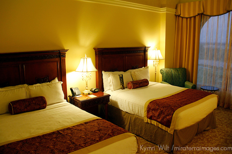 USA, Florida, Orlando. The Rosen Shingle Creek Resort, 2 queen-bedded room.