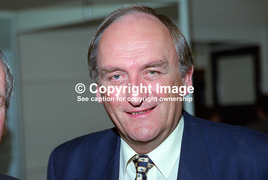 Sean Barrett, TD, Fine Gael, Rep of Ireland, 199902002..Copyright Image from Victor Patterson, 54 Dorchester Park, Belfast, UK, BT9 6RJ..Tel: +44 28 9066 1296.Mob: +44 7802 353836.Voicemail +44 20 8816 7153.Skype: victorpattersonbelfast.Email: victorpatterson@mac.com.Email: victorpatterson@ireland.com (back-up)..IMPORTANT: If you wish to use this image or any other of my images please go to www.victorpatterson.com and click on the Terms & Conditions. Then contact me by email or phone with the reference number(s) of the image(s) concerned.