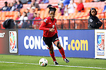 20 October 2014: Maylee Attin (TRI). The Trinidad & Tobago Women's National Team played the Guatemala Women's National Team at RFK Memorial Stadium in Washington, DC in a 2014 CONCACAF Women's Championship Group A game, which serves as a qualifying tournament for the 2015 FIFA Women's World Cup in Canada. Trinidad and Tobago won the game 2-1 to secure advancement to the semifinals.