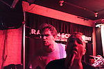 September 6, 2013. Raleigh, North Carolina. <br /> Spiderbags at the Churchkey Records day party at Slim's.<br /> For the fourth year in a row, bands and fans hit the streets and venues of downtown Raleigh for the HOPSCOTCH music festival.