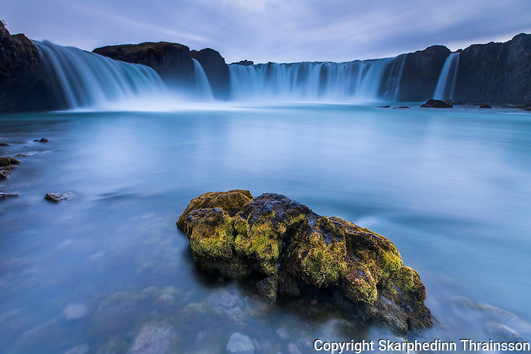 "Goðafoss ""Waterfall of the Gods"" north Iceland"