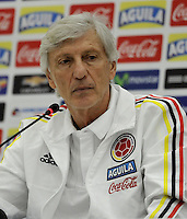 Jose Pekerman, Rueda Prensa / Press Conference, 09-11-2016