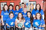 Debra Duggan, Tralee who met her hens in O'Sullivan bar Firies before they headed to Ennis for her hen party front row l-r: Siobhain Breen, Debra duggan, Sophie Houlihan, Frances Henderson. Back row: Olivia Butler, Nora duggan, Liz Folwy, Noreen Casey, Martina McEneaney, Magella Breen and Lorraine Breen