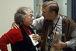 Bob Walter talks to Martha Jo in the ER about a crisis in Ward 5A about another Chaplain.