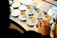 Sant' Eustachio, founded in 1938 is a popular cafe in the centre of Rome, where the coffee is of the finest quality and is roasted by hand.