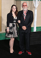 HOLLYWOOD, LOS ANGELES, CA, USA - DECEMBER 09: John Callen, Georgia Allen  arrive at the World Premiere Of New Line Cinema, MGM Pictures And Warner Bros. Pictures' 'The Hobbit: The Battle of the Five Armies' held at the Dolby Theatre on December 9, 2014 in Hollywood, Los Angeles, California, United States. (Photo by Xavier Collin/Celebrity Monitor)