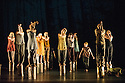 """London, UK. 08.06.2013. The newly-formed National Youth Dance Company presents """"in between"""" in a double bill, as part of A String of Rites, to commemorate the centenary of Igor Stravinky's """"The Rite of Spring"""", at Sadler's Wells. Photograph © Jane Hobson."""