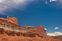 731350262 the castle and fluted wall formations in capitol reef national park utah united states