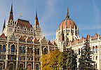 Houses of Parliament - Orszaghaz - Budapest - Hungary