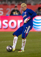 FC Dalas keeper Kevn Hartman during pre-game warm-ups. The Colorado Rapids defeated FC Dallas 2-1 to earn their first league title.
