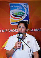 Steffi Jones. A Welcome USA reception for the FIFA Women's World Cup 2011 was held at the German ambassador's residence in Washington, DC.