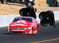Jul 30, 2016; Sonoma, CA, USA; NHRA pro stock driver Drew Skillman during qualifying for the Sonoma Nationals at Sonoma Raceway. Mandatory Credit: Mark J. Rebilas-USA TODAY Sports