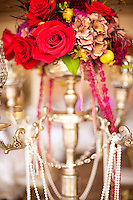 Gorgeous wedding flowers for table decorations.
