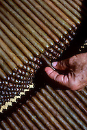 Cuba, March 1992: Final counting and sorting of the Cohiba Cigars at the factory in Havana.