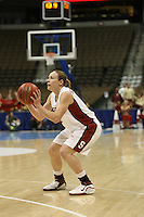18 March 2006: Clare Bodensteiner during Stanford's 72-45 win over Southeast Missouri State in the first round of the NCAA Women's Basketball championships at the Pepsi Center in Denver, CO.