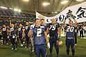 "Obic Seagulls team group, .DECEMBER 19, 2011 - American Football : .X League Championship ""Japan X Bowl"" .between Obic Seagulls 24-17 Fujitsu Frontiers .at Tokyo Dome, Tokyo, Japan. .(Photo by YUTAKA/AFLO SPORT) [1040]"