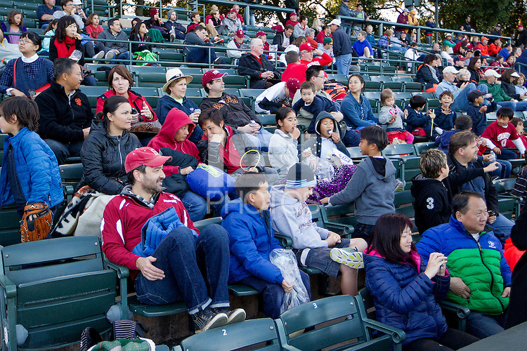 STANFORD, CA - MAY 15, 2015--Fans during Stanford's vs Oregon State baseball at Klein Field at Sunken Diamond. Stanford lost 5-2.