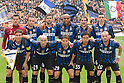 Inter team group line-up, OCTOBER 23, 2011 - Football / Soccer : Italian &quot;Serie A&quot; match between Inter Milan 1-0 Chievo at Stadio Giuseppe Meazza in Milan, Italy. (Photo by Enrico Calderoni/AFLO SPORT) [0391]