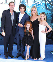 HOLLYWOOD, LOS ANGELES, CA, USA - MAY 28: Regan Burns, Blake Michael, Francesca Capaldi, Beth Littleford, G. Hannelius at the World Premiere Of Disney's 'Maleficent' held at the El Capitan Theatre on May 28, 2014 in Hollywood, Los Angeles, California, United States. (Photo by Xavier Collin/Celebrity Monitor)