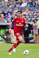 Javier Pastore (27) of Paris Saint-Germain. Chelsea FC and Paris Saint-Germain played to a 1-1 tie during a 2012 Herbalife World Football Challenge match at Yankee Stadium in New York, NY, on July 22, 2012.