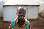 Mcc0075406 . Daily Telegraph<br /> <br /> DT Foreign<br /> <br /> <br /> <br /> <br /> Children in POC 3 , the Protection of Civilian Camp inside the vast UN compound on the outskirts of Juba . Over 20,000 civilians who predominantly fled from conflict in the equatorial states of South Sudan . United Nation's agencies recently announced a famine in the war torn country .<br /> <br /> Juba 27 February 2017