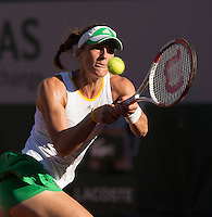 ANDREA PETKOVIC (GER)<br /> <br /> Tennis - French Open 2014 -  Roland Garros - Paris -  ATP-WTA - ITF - 2014  - France -  5th June 2014. <br /> <br /> &copy; AMN IMAGES