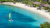 Hobie Cat<br /> Caneel Bay Resort<br /> Virgin Islands National Park<br /> St. John<br /> US Virgin Islands