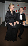 Tina Brown and Sir Harry Evans..arriving at The New York Public Library 2008 Library Lions Benefit Gala on November 3, 2008 at The New York Public Library at 42nd Street and 5th Avenue.....Robin Platzer, Twin Images