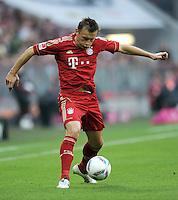 FUSSBALL   1. BUNDESLIGA  SAISON 2011/2012   11. Spieltag FC Bayern Muenchen - FC Nuernberg        29.10.2011 Ivica Olic (FC Bayern Muenchen)