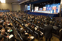 General view of the opening of the IV World Water Forum in Mexico City, March 16. 2006.  Over ten thousand representatives of 120 countries are attending the meeting to discuss water issues. Photo by Javier Rodriguez © Javier Rodriguez