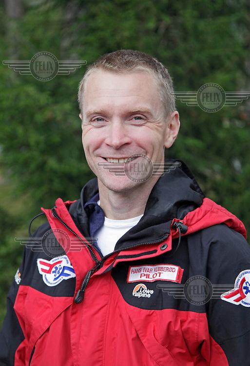 Pilot Hans Ivar Kubberød