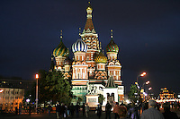 Image is of St. Basil's Cathedral in Moscow, Russia on Red Square and taken on June 12, 2005.Bbuilt in the 16th century on Red Square by Ivan the Terrible to commemorate his successful military campaign.  (Photo by Tom Theobald)