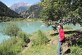 """Der Jesik Nationalpark liegt 70km östlich von Almaty, Kasachstan. Auch hier dokumentiert die Gesellschaft """"Grüne Rettung"""" regelmäßig die Veränderungen der Natur, um Aufmerksamkeit für die Probleme zu schaffen.Rawil Nasirow fährt zur Dokumentation wöchentlich durch die Nationalparks um Almaty."""