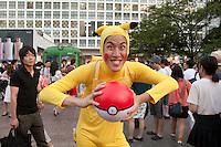 Pokemon Go craziness in Tokyo