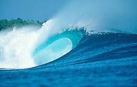 Surfing at G-Land Indonesia on the East Coast of Java, Indonesia.photo:  joliphotos.com