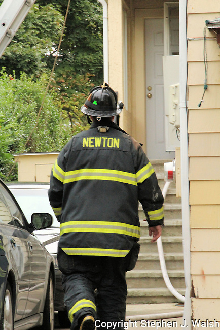 Working Fire at 60 Brooks Ave in the City of Newton about 9am on September 21, 2012