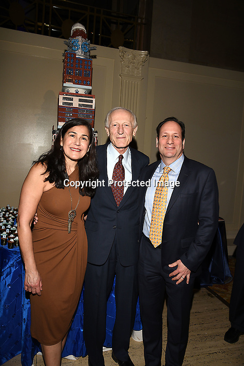 Janarth Duque Sachs and Dr Soghoian attend the Columbia Grammar & Prep School 2017 Benefit on March 8, 2017 at Cipriani Wall Street in New York, New York.
