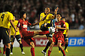 (L to R) Chikashi Masuda (Antlers), Jorge Wagner Goes Conceicao (Reysol),JULY 23, 2011 - Football : 2011 J.LEAGUE Division 1,6th sec between Kashiwa Reysol 2-1 Kashima Antlers at National Stadium, Tokyo, Japan. (Photo by Jun Tsukida/AFLO SPORT) [0003]