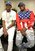 NEW ORLEANS, LA - JULY 3, 2016 Fabolous & Mase backstage at Essence Festival at Mercedes Benz Superdome, July 3, 2016 in New Orleans, Louisiana. Photo Credit: Walik Goshorn / Media Punch