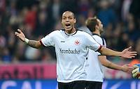 FUSSBALL   1. BUNDESLIGA  SAISON 2012/2013   11. Spieltag FC Bayern Muenchen - Eintracht Frankfurt    10.11.2012 Anderson (Eintracht Frankfurt)