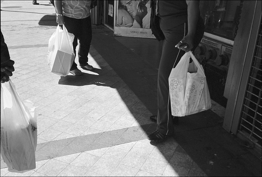 """From """"Walking Downtown"""" series. Miami, 2010"""