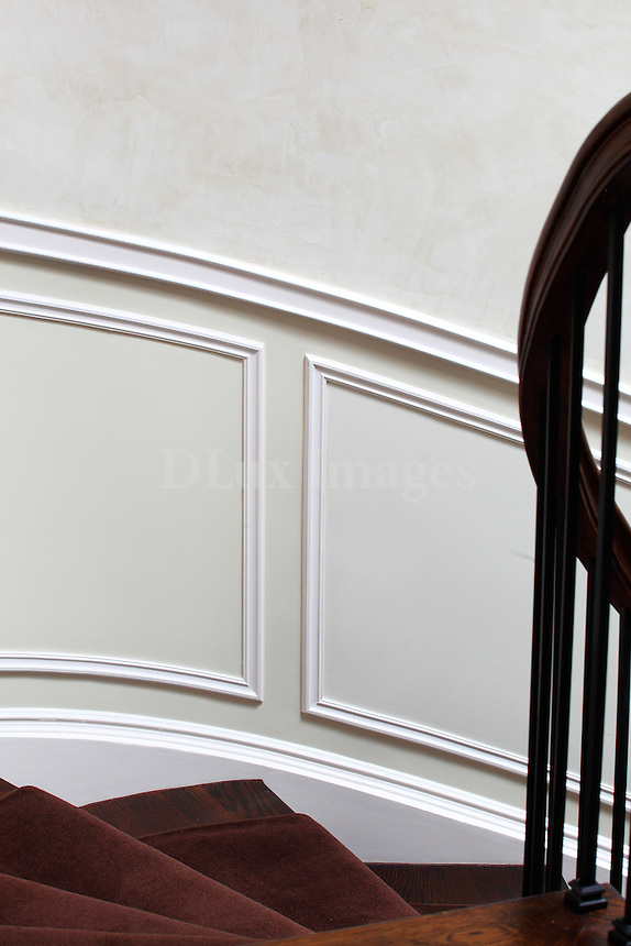 close up of wainscoting details