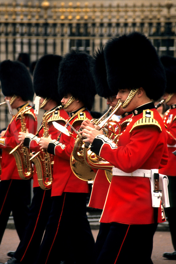 Changing of the guard in London England