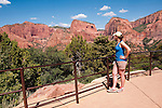 USA Utah, Zion National Park. Kolob Canyons in the northwest corner of the park. Model Released MR.