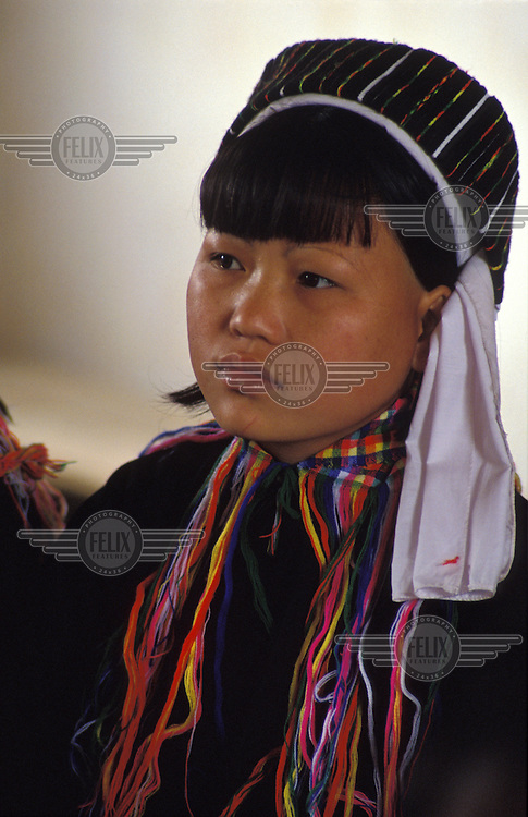 Young woman from Nuang tribal group.