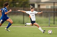 SAN ANTONIO, TX - SEPTEMBER 2, 2016: The Texas A&M University-Corpus Christi Islanders fall 6-1 to the University of Texas at San Antonio Roadrunners at the Park West Athletics Complex. (Photo by Jeff Huehn)