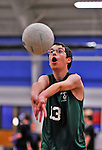 25 October 2012: The Vermont Commons School Flying Turtles host the Lake Region Union High School at the Firness Edge Gymnasium in South Burlington, Vermont. The matches were the last home games of the VCS teams  for the 2012 season. Mandatory Credit: Ed Wolfstein Photo